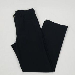 Theory Black Straight Leg Pants